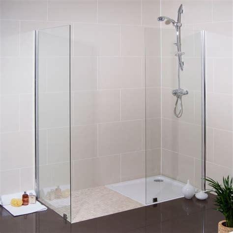 better bathrooms showers walk in glass shower screen from better bathrooms walk