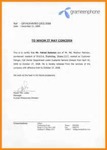 Work Experience Letter For Nursing 12 Experience Certificate Format Resumed
