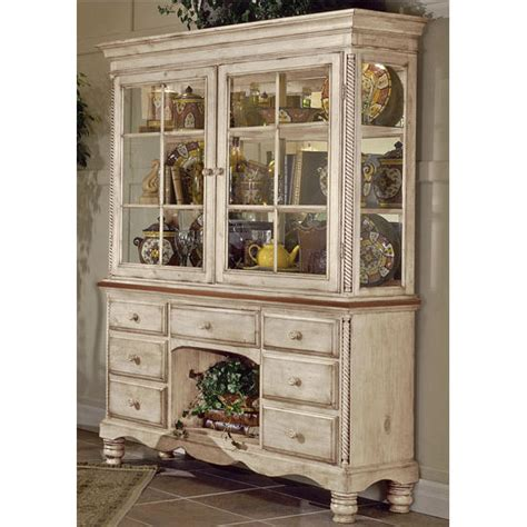 home furnishings wilshire buffet hutch with antique