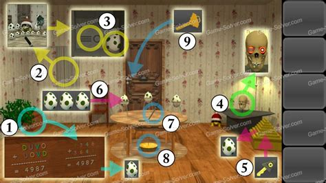 escape the room walkthrough in words escape 10 magic rooms stage 5 solver