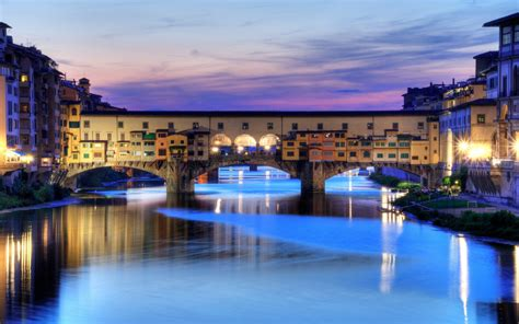 beautiful florence bridge italy cities