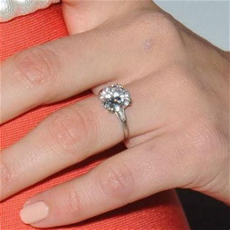 emmy rossum engagement ring 17 best images about celebrity bling on pinterest