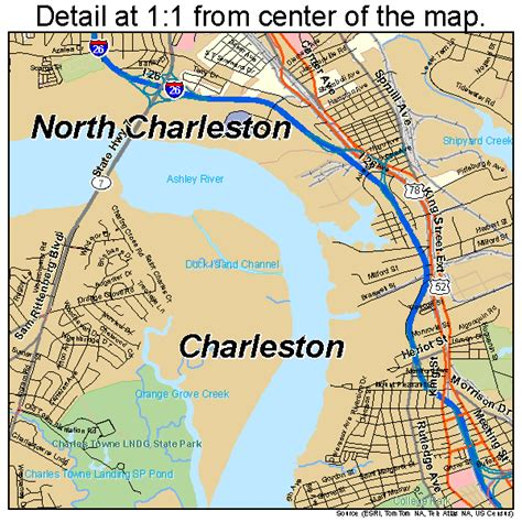 charleston sc map charleston south carolina map 4513330