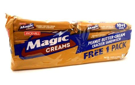 Biscuit Magic Cracker Sandwich magic creams peanut butter cracker sandwich by