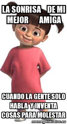 imagenes para amigas memes meme personalizado la sonrisa de mi mejor amiga cuando