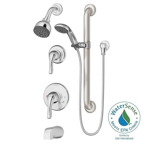 Symmons Tub And Shower Valve by Symmons Origins Temptrol Single Handle 1 Spray Tub And