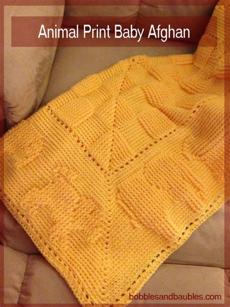printable animal knitting patterns i m finally done the animal print afghan that i have been