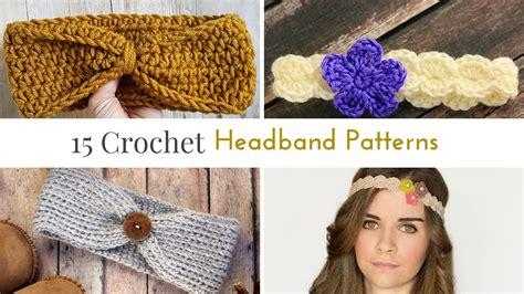 pattern to crochet a headband free crochet headband patterns
