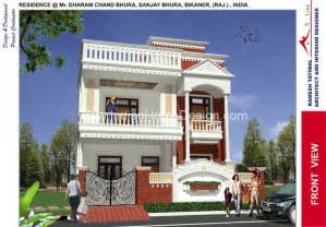 indian home design 2011 modern front elevation ramesh modern indian style villa design