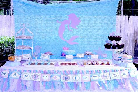 Under the Sea/Mermaid Birthday Party Ideas   Photo 1 of 15   Catch My Party