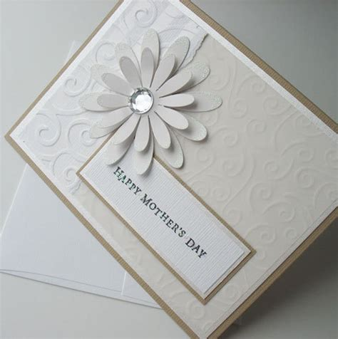 Day Handmade Greeting Cards - mothers day greeting card handmade blank note card