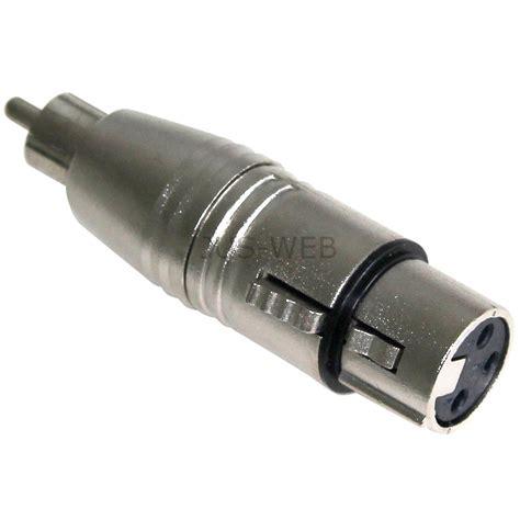Kabel Mic Xlr To Rca 5m w 228 hlbar 3 pol xlr audio kabel adapter stecker buchse