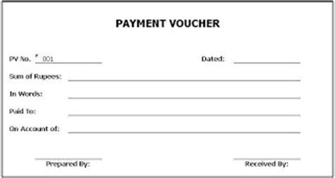 general knowledge library payment voucher template