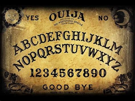 How To Make Ouija Board Out Of Paper - how to make a ouija board that should work