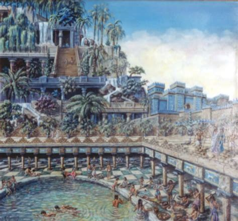 Gardens Of The Ancients - the hanging gardens of babylon one of many