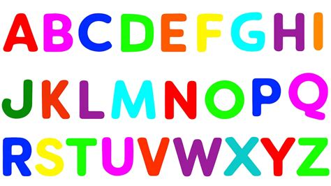 Alphabet Letters Song