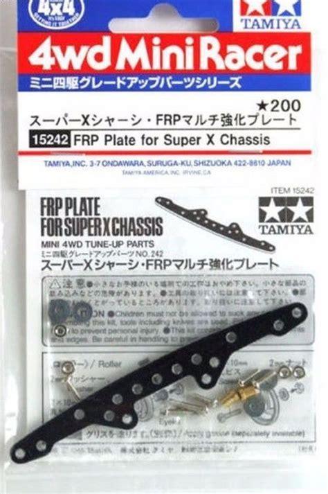 Tamiya 15313 Rc Mini 4wd Frp Plate Set Front tamiya 15242 x frp reinforcing plate wah wah model shop
