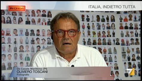libro oliviero toscani pi di in onda su la7 commenti e riflessioni dagli spettatori attenti di ieri sera olivierotoscaniblog
