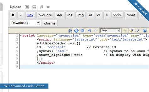 advanced layout editor wordpress plugin 12 wordpress plugins to display and highlight code