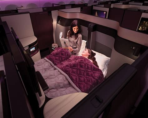 qatar airways unveils the beds in business class the washington post