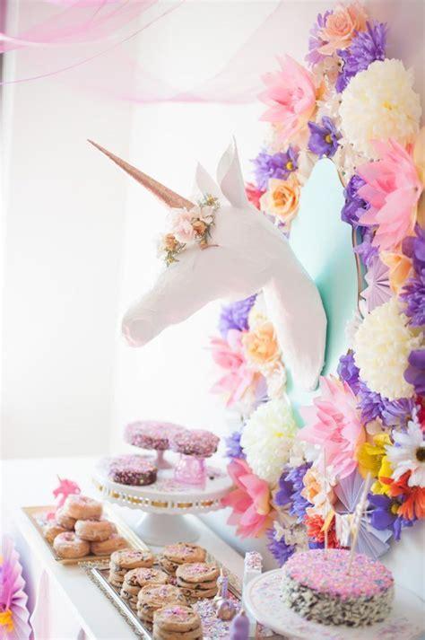Whimsical Unicorn Birthday Party   Unicorn Party Ideas