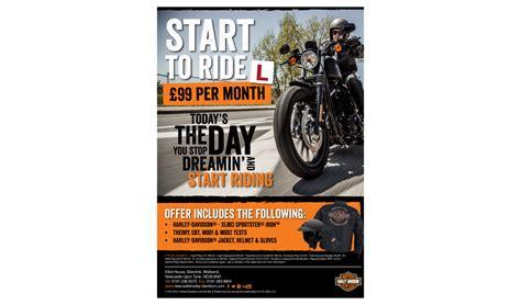 Harley Davidson Flyer evocreative graphic design marketing
