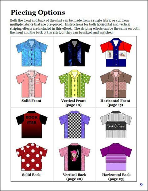 pattern bowling shirt bowling shirt pattern for tweens teens and adults pdf