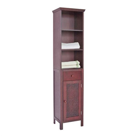 Bathroom Storage Tower Bathroom Storage Linen Tower Espresso Finish By Echelon Home Kitchensource
