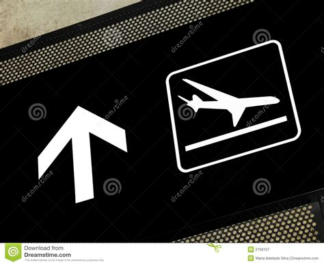Airport Floor Plan Design airport signs arrivals area royalty free stock