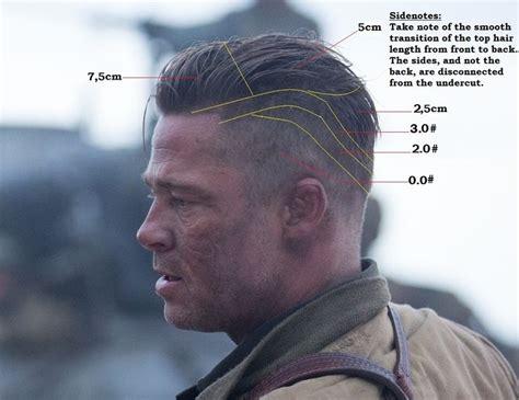 army haircut fury best 20 brad pitt fury haircut ideas on pinterest
