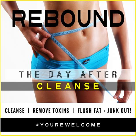 Do I Need Rehab After Detox by Rebound Day After Rapid Recovery Cleanse Santa