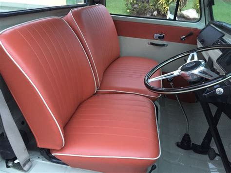 images  upholstery ideas  pinterest volkswagen black bench  bench seat