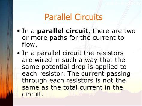 current flow through each resistor unit 3 notes
