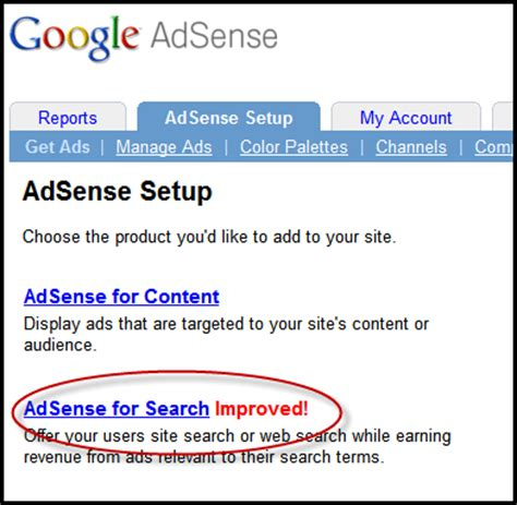 adsense search adsense for search on wordpress using custom page template