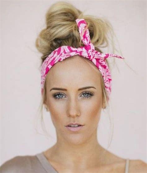 cute hairstyles using a bandana how to create a hairstyle with a bandana bandanas