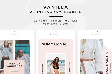 25 Psd Templates To Create Stunning Instagram Stories Web Graphic Design Bashooka Instagram Ad Template Psd