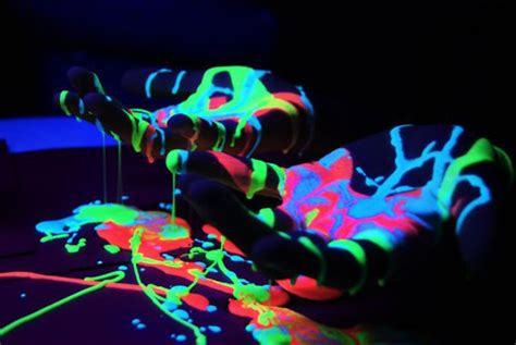 glow in the paint glow in paint phosphorescent paint neon