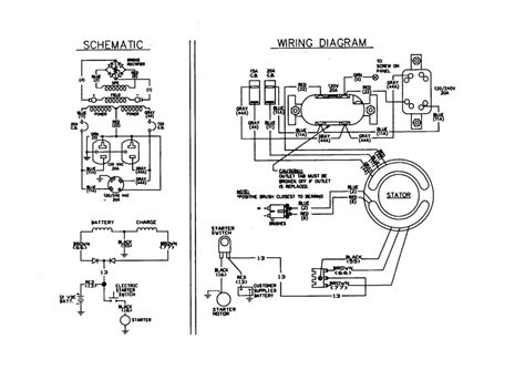 generator wiring diagrams generator wiring diagram and electrical schematics with