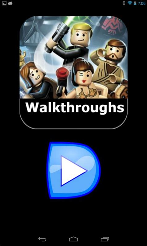 wars app android lego wars walkthroughs free apk android app android freeware