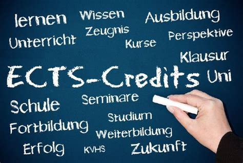 Mba Credits Ects by Ects Alle Infos