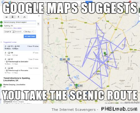 Google Maps Meme - just landed big new customer it hellcat related