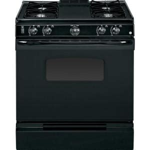 gas stove home depot ge 31 in slide in gas range in black jgss05dembb the