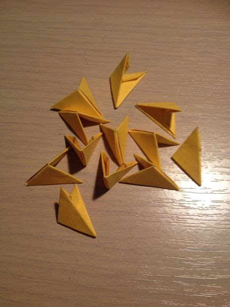 3d Origami Triangles - 3d origami triangles