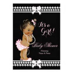 pearl baby shower invitations announcements zazzle