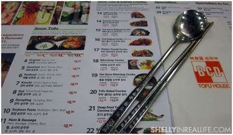 bcd tofu house menu la food tour part 1 bcd tofu house shelly in real life