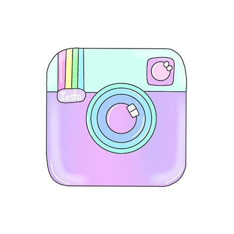 pastel instagram logo    cute