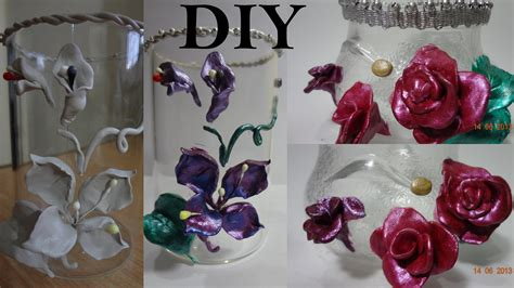 home made decoration pieces diy glass center mantle piece make use of broken glass at