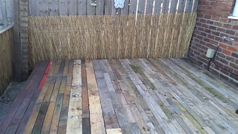 deck  pallets youtube