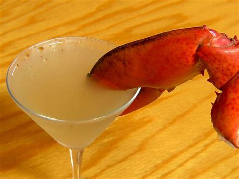 martini lobster lobster martini bottoms up drinks galore pinterest