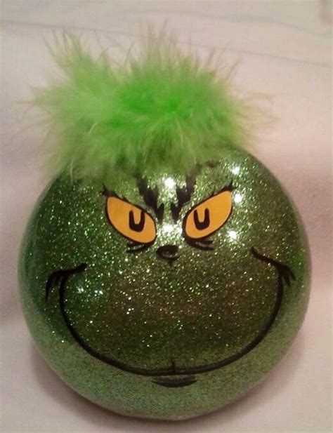 the grinch stole christmas ornament halloween and